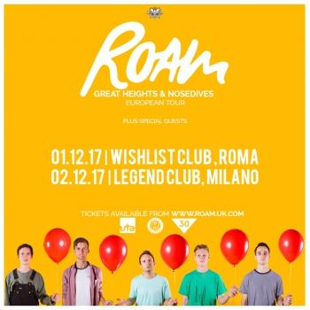 Roam a Milano: ecco gli opener