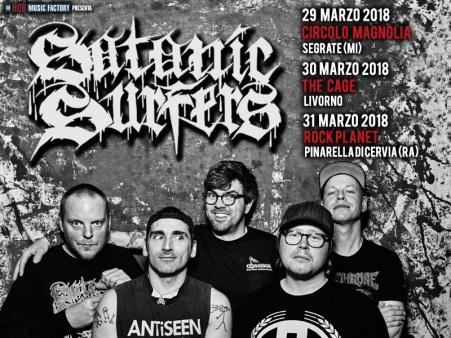 satanic surfers tour italia