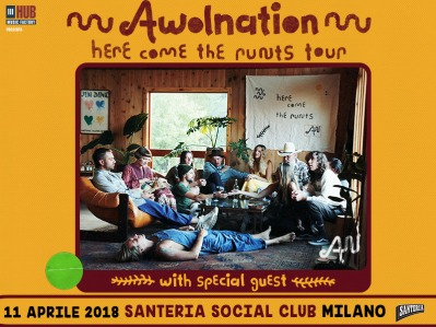 awolnation here come the runts tour