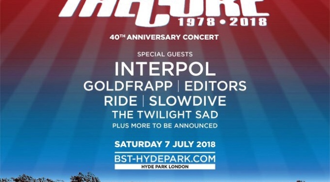 I The Cure festeggiano i 40 anni con un concerto gigantesco