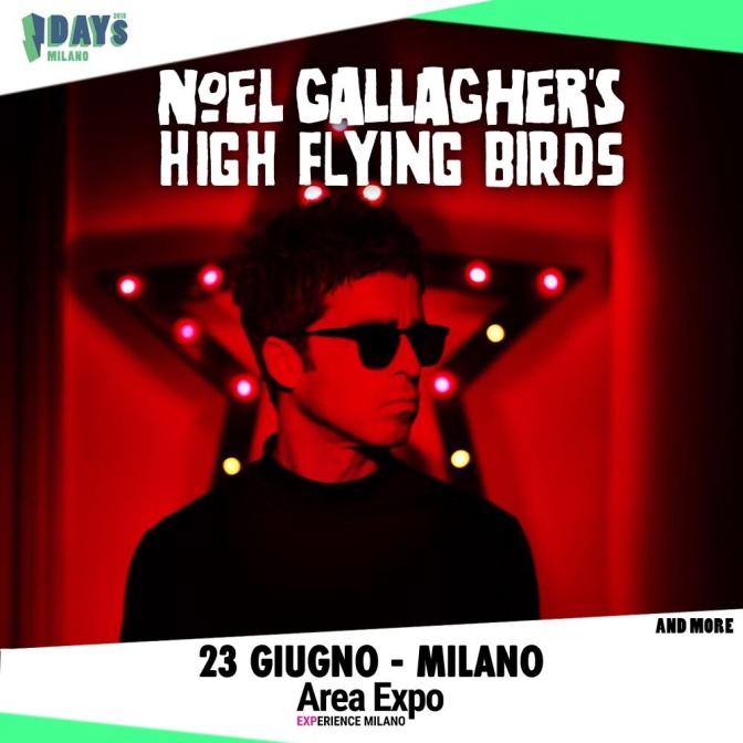 I-Days 2018: Noel Gallagher è l'ultimo headliner annunciato