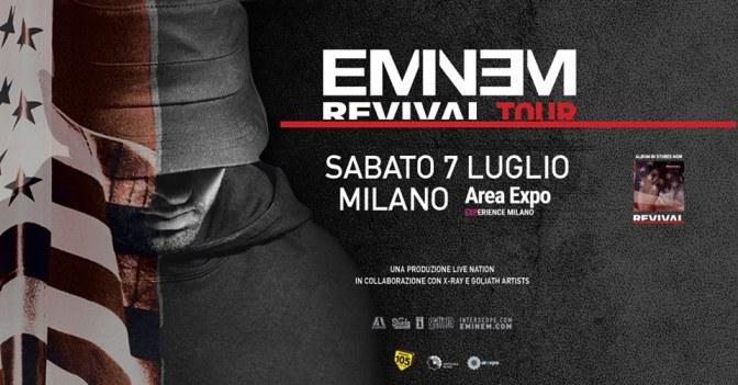 Eminem per la prima volta in Italia!