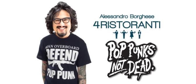 Ad Alessandro Borghese piace il pop punk