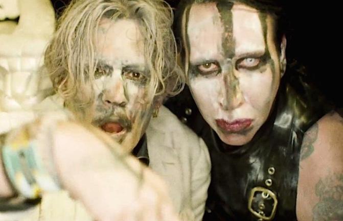 Johnny Depp sarà il nuovo chitarrista di Marilyn Manson?