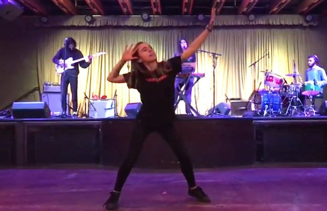 julien baker dancing to half waif