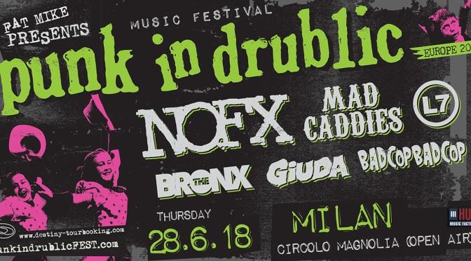 Punk in Drublic in Italia: NOFX, Mad Caddies e tanti altri