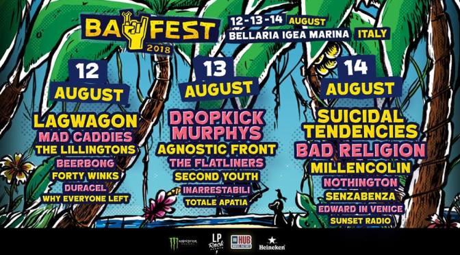Svelati gli ultimi nomi del Bay Fest 2018!
