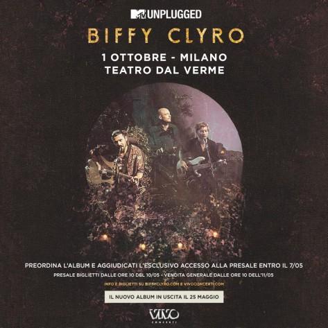 Biffy Cliro 1 ottobre