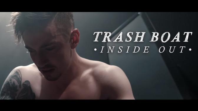 trash boat inside out