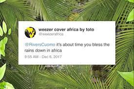 I Toto coverizzano gli Weezer (che hanno coverizzato i Toto)
