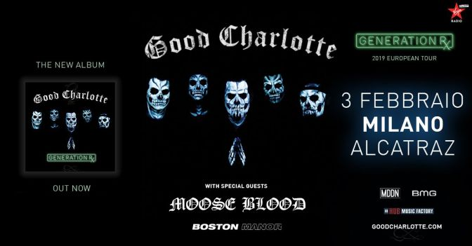 Moose Blood e Boston Manor in Italia insieme