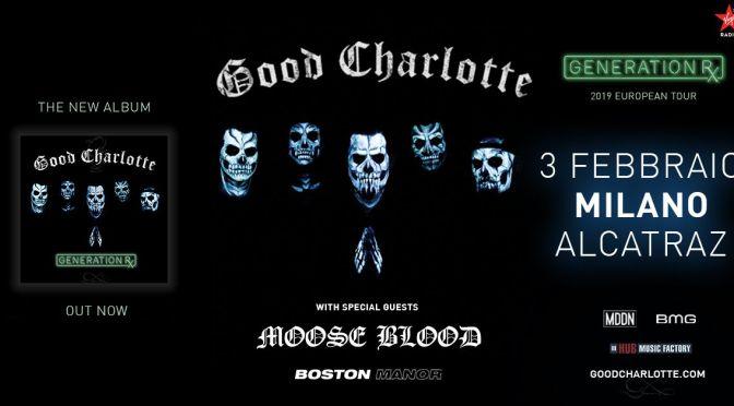 Moose Blood e Boston Manor in Italia insieme