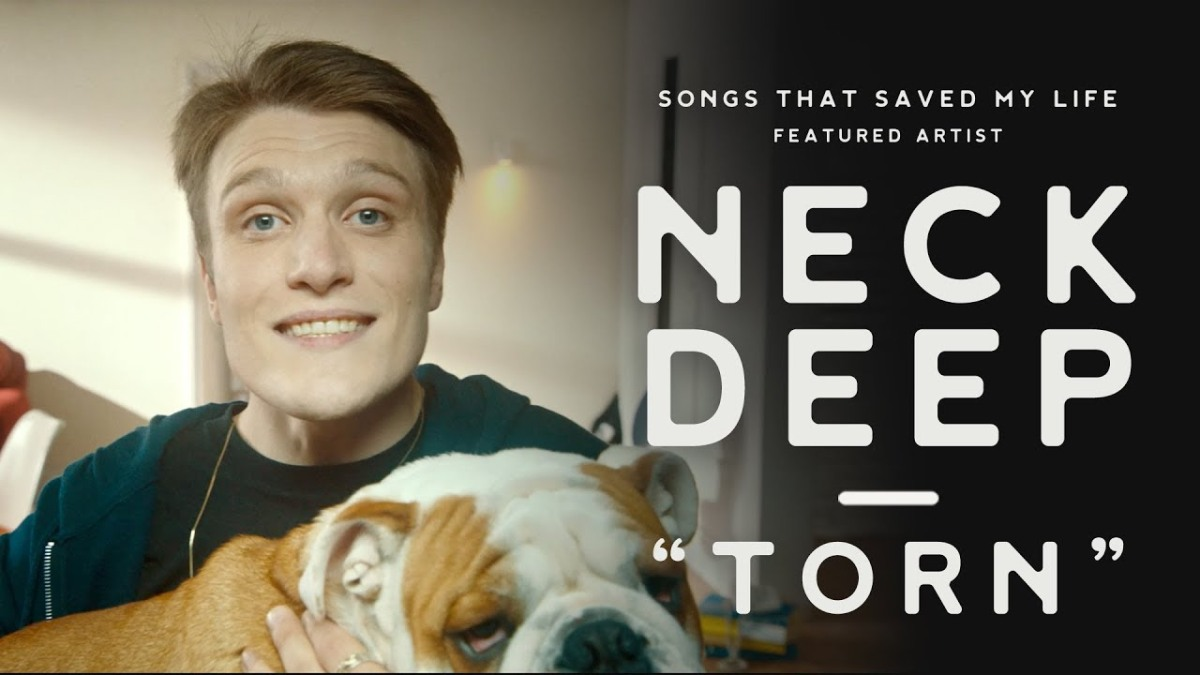 "Ecco il video ufficiale della cover di ""Torn"" dei Neck Deep per Songs That Saved My Life"