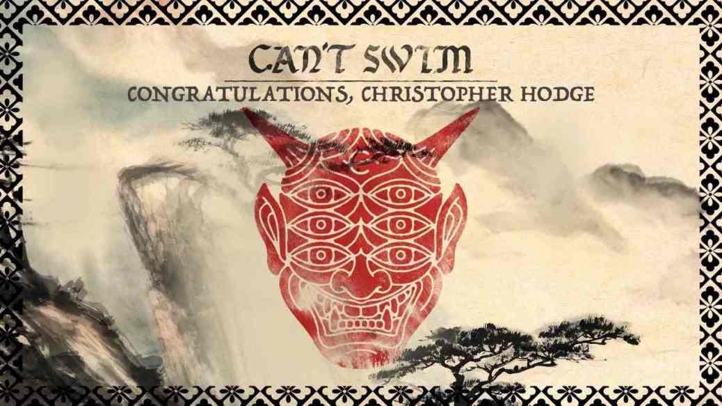 Can't Swim - nuova canzone Congratulations, Christopher Hodge