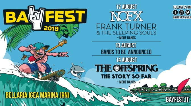 Bay Fest 2019 The Story So far e Frank Turner
