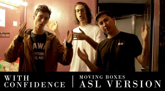 with confidence moving boxes