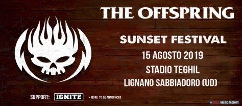The Offspring + Ignite - 15.09.2019 Sunset Festival, Lignano (UD)
