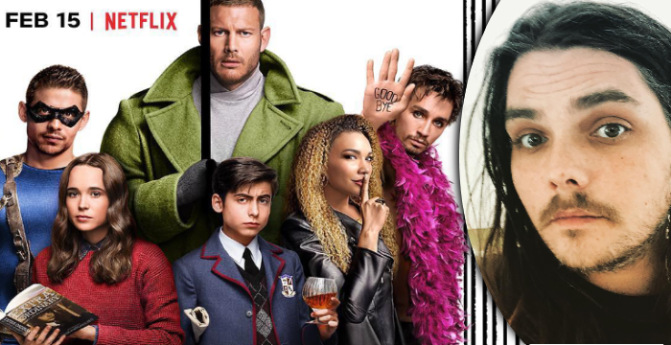 Arriva su Netflix The Umbrella Academy, la serie di Gerard Way dei My Chemical Romance