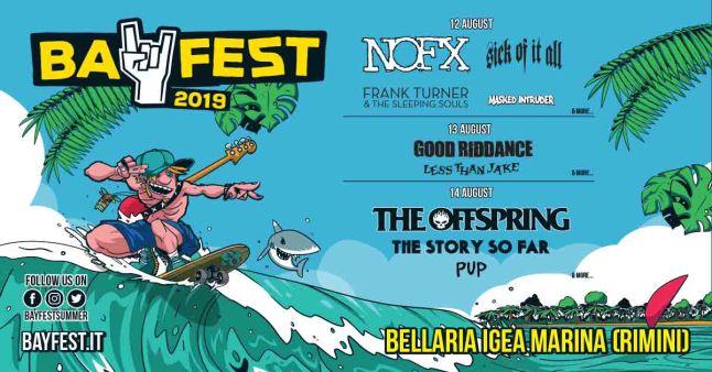 Bay Fest 2019, locandina