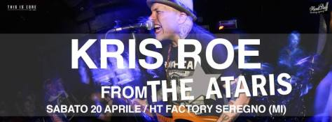kris roe the ataris in italia