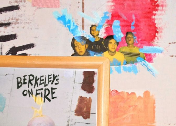 Swmrs - Berkeley's on Fire, copertina