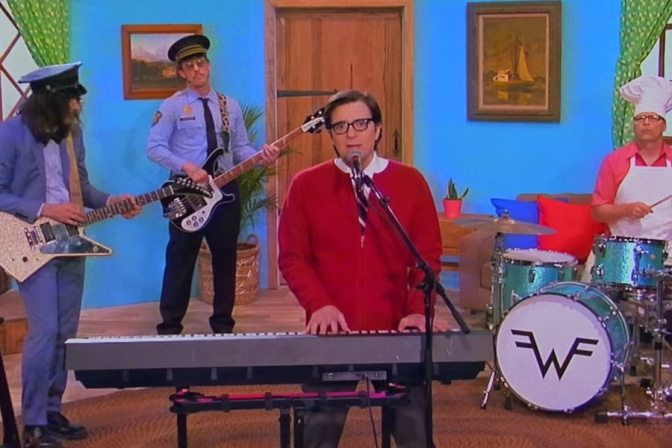 "Due nuove canzoni degli Weezer: ""High As A Kite"" e ""Living In LA"""