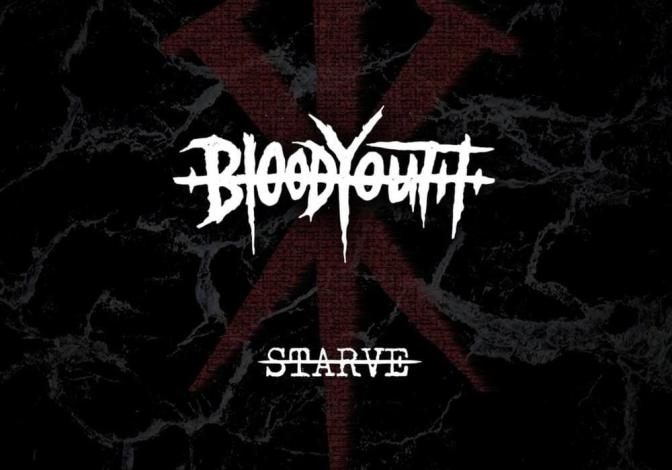 Blood Youth, copertina Starve