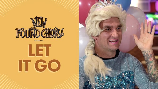 I New Found Glory pubblicano (finalmente) la cover di Let It Go