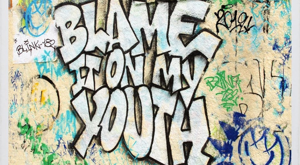 blink-182 blame it ony my youth