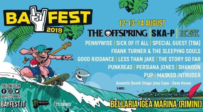 Il Bay Fest annuncia i primi artisti del palco acustico