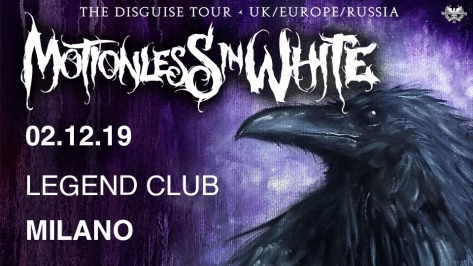 motionless in white in italia